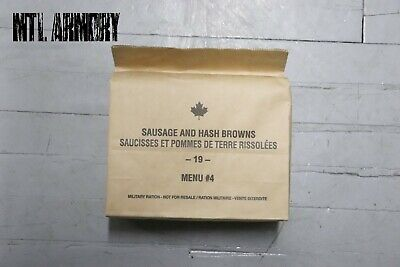 #04 Canadian Forces  IMP MRE Rations Canada Army (Meals Ready-to-eat)