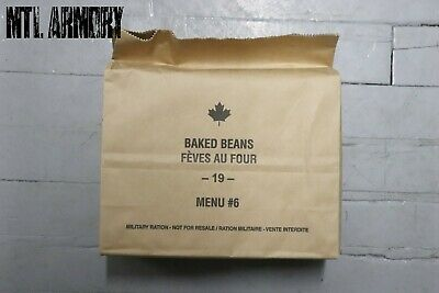 #06 Canadian Army Rations IMP MRE 2019 (Meals Ready-to-eat)