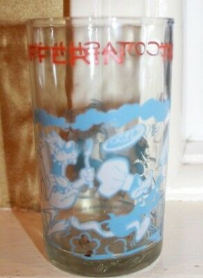 Vintage 1974 Warner Bros. Looney Toons Thuccotash Thufferin' collector glass