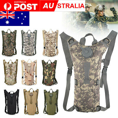 3L Camelbak Backpack Bladder Tactical Hydration System Bag Pack Camping Water
