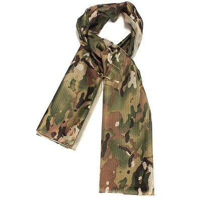 1X(Foulard Echarpe Cheche Cache-Col Camouflage Tactique Militaire Armee Pol K4X2