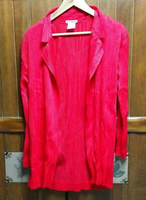 Used Issey Miyake Pleats Please Jacket Red Size M