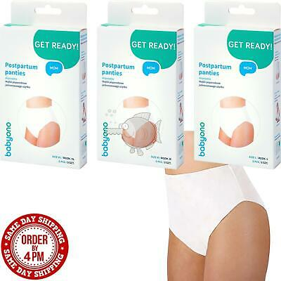 Disposable Maternity Knickers Hospital Pregnancy Post Partum Pants Brief Babyono