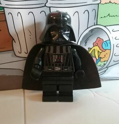 Star Wars lego mini figure DARTH VADER white eye dots 7965 10212 10221