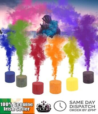 Colorful Smoke Cake Show Prop Smoke Bomb Effect Stage Photography Party Aid Toy
