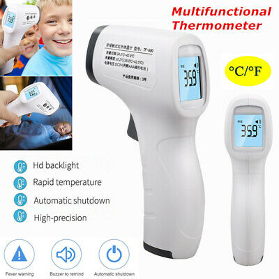 Non-Contact Digital IR Infrared Forehead Thermometer-Gun Adult Body Temperature