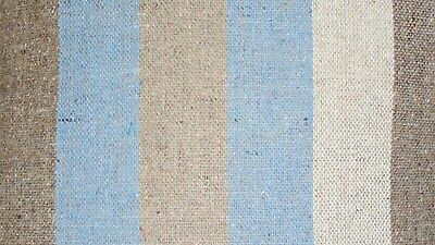 Mixed Cotton Fabric Material Stripes  - Fat Quarters - Good Quality