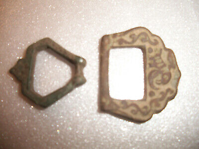 Estate Sale - 2x Authentic Ancient Artifacts / Buckles !