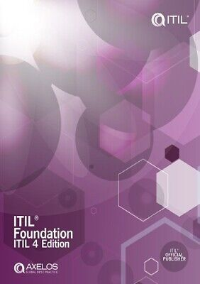 ITIL Foundation  ITil  4th edition P.D.F fast delivery E-B0oOk