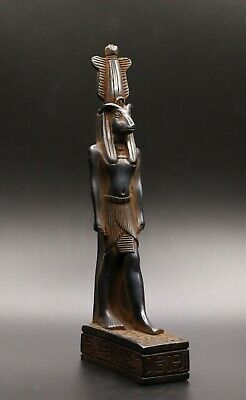 Rare Ancient Egyptian Egypt Antiques Hathor Goddess Statue Carved Stone Bc