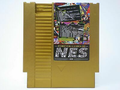 852 in 1 Forever Duo NES Games Nintendo Gold Cartridge Multi Cart 405&447 in 1