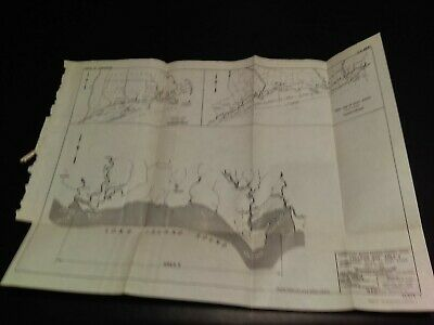 1949 Connecticut Beach Erosion Location Map Hammonasset River to East River
