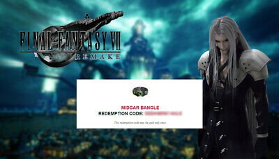 Final Fantasy 7 Remake PROMO - MIDGAR BANGLE + Tifa Theme CODE NO WAIT