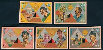 Haiti - Munich Olympic Games MNH Imperf Sports Stamps (1972)
