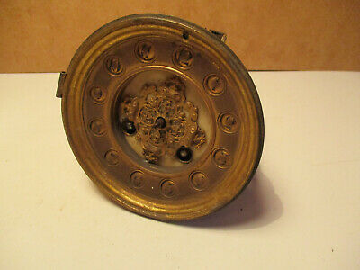Antique French Japy Freres Slate Clock Movement Spares Repair