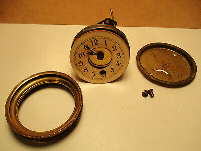 Antique 30 Hour Clock Movement for Porcelain Clocks Spares Repair