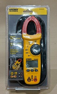 Sperry Instruments Model# DSA500AR 400 Amp Digital Clamp Meter