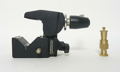 Impact CC-106R Super Clamp with Ratchet Handle and Stud