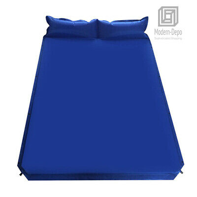Kozi Mountaineering Thick Sleeping Pad for Backpacking Camping Outdoors Prepping