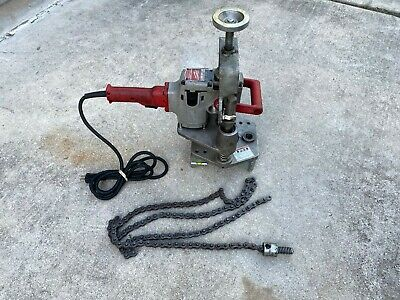 AS-IS Victaulic VHCT-900 T-Drill Hole Cutting Pipe Drill, PARTS / REPAIR