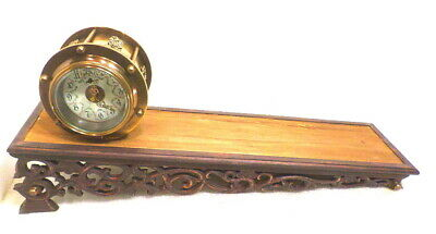 Stunning Rolling Plane Clock--Never Wind It With A Key--WONDERFUL CLOCK