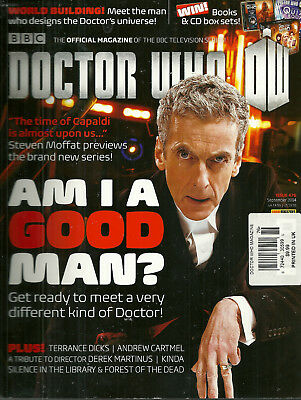 Doctor Who Monthly Magazine #484 Peter Capaldi Cover 2015 NEW UNREAD