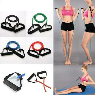 Sport Resistance Fitness Bands Elastic Stretch Yoga Train Cord Band Excercise