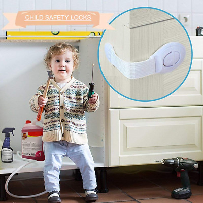 Baby Drawer Safety Lock Refrigerator Window Closet Children Security Protections