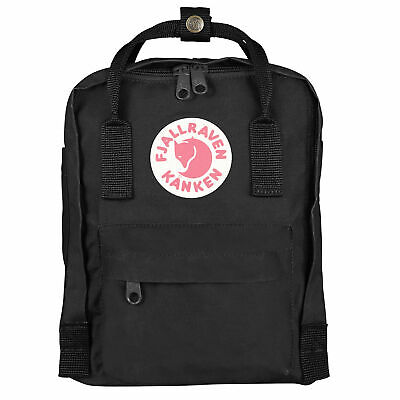 Fjallraven Kanken Mini Unisex Rucksack - Black One Size
