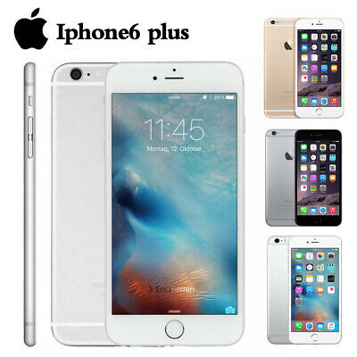 Apple iPhone 6 Plus 16GB 64GB/ 128GB SIM Unlocked Free Smartphone HOT!