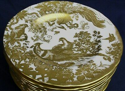 Royal Crown Derby GOLD AVES  A1235 tea plate up to 10 available