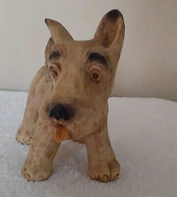 Vintage Looking  Cairn Terrier Dog Home Decor.