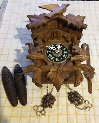 Vintage Black Forest Cuckoo Clock (Working) fully restored
