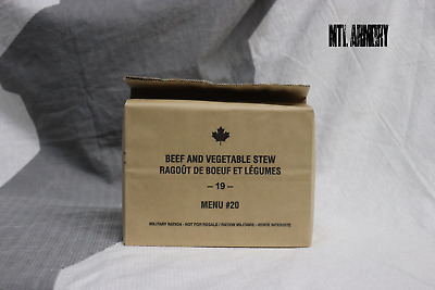 #20 Canadian Army Rations IMP MRE 2019 (Meals Ready-to-eat)