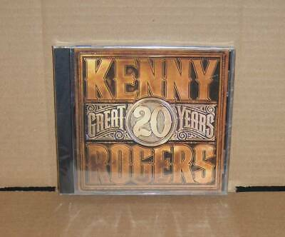 20 Great Years by Kenny Rogers CD 2007 Rhino Lucille The Gambler Ruby Lady