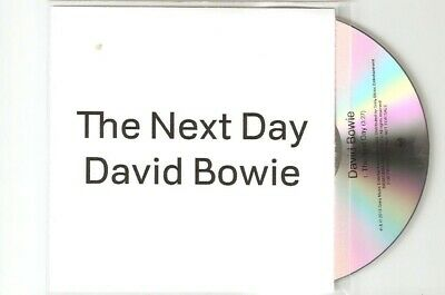 David Bowie - The Next Day - Rare Uk Cd Promo