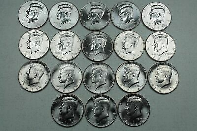 Beautiful Complete Bu Kennedy Half Dollar Collection 2010-2019P&D Mints 20 Coins
