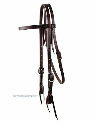 WI Westernimports Ranchhand 5/8 Browband Double Buckle