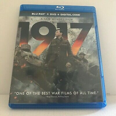 1917 Movie Blu-Ray Disc Only (No DVD No Digital)