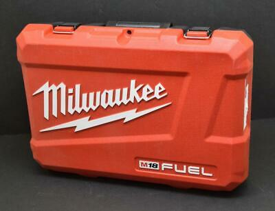 """EMPTY CASE ONLY Milwaukee 2997-22 M18 Fuel 1/4"""" Impact Driver Kit Hard Case 2853"""