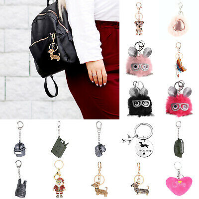 Key Chain Bag Pendant Key Holder Backpacks Accessaries Car Hanging Decoration