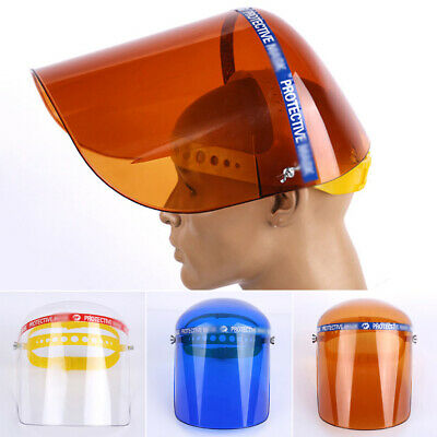 1* Safety Full Face Shield Clear Glasses Dust-Proof Eyes Protector Anti-Saliva