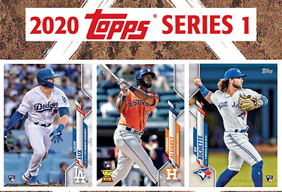 2020 Topps Baseball Series 1 Base and Rookie Cards #1-250 You Pick/Choose