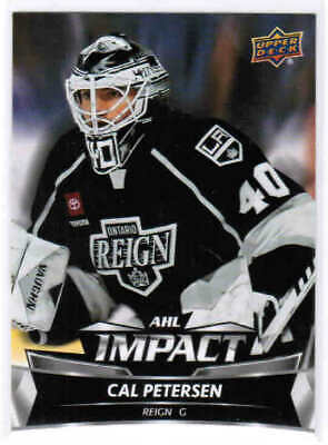19/20 2019 UD UPPER DECK AHL HOCKEY IMPACT INSERT CARDS (I-X) U-Pick From List