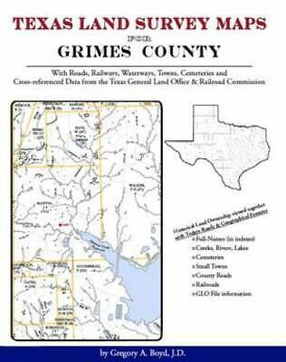 Texas Land Survey Maps for Grimes County