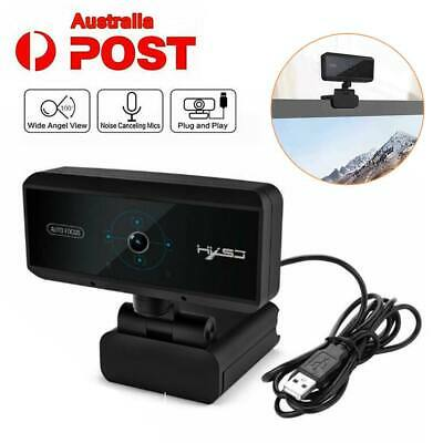 5 Megapixel Auto Focusing Webcam Digital Full HD1080P Camera with Mic Video Call