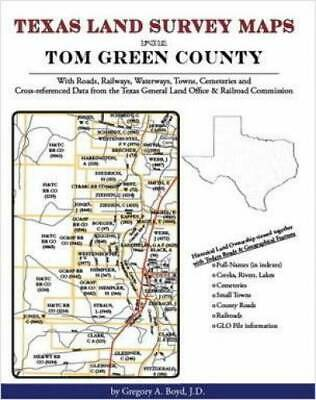 Texas Land Survey Maps for Tom Green County, Texas