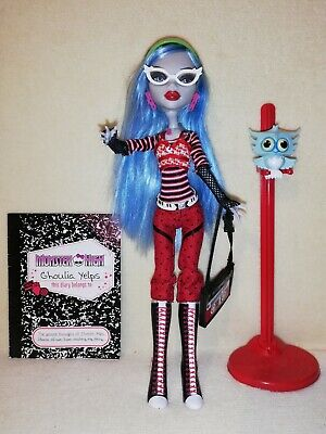 Monster High Ghoulia Yelps Original First Wave Ex-Display . COMPLETE & PERFECT!