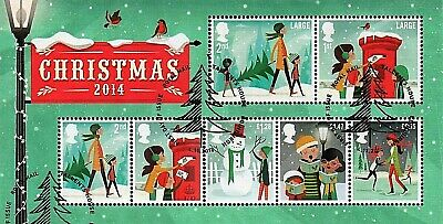GB Stamps 2014 'Christmas' MS3657 - Fine used