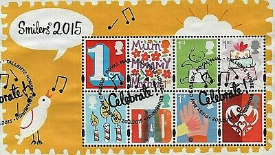 GB Stamps 2015 'Smilers' (5th series) MS3678 - Fine used
